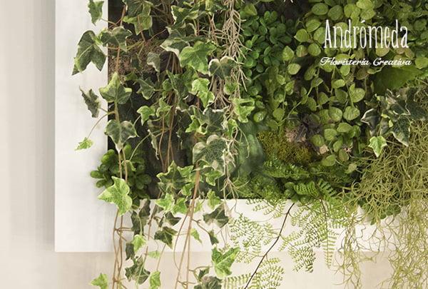 Mini jardín vertical artificial
