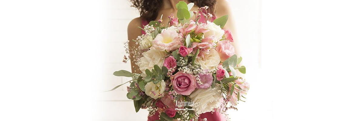 ramo de novia campestre