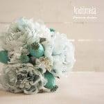 ramo novia artificial