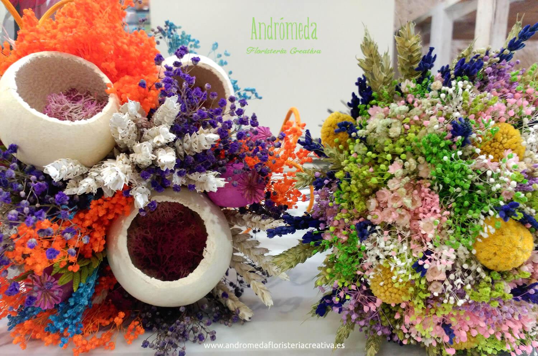 centros de flores artificiales