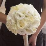 ramo de novia elegante