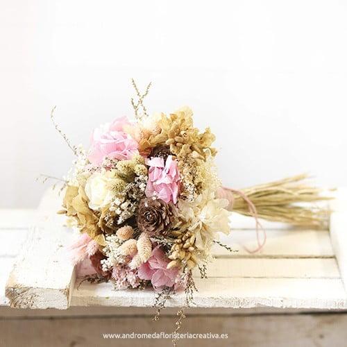pink brownie ramo de flores